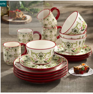NEW DINNERWARE SET (PLATES, MUGS, BOWLS)
