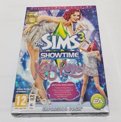 The Sims 3 Showtime Katy Perry Collector's Ed. GIOCO PC VERSIONE ITALIANA NUOVO comprar usado  Enviando para Brazil