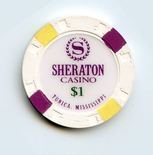 1.00 Chip from the Sheraton Casino in Tunica Mississippi