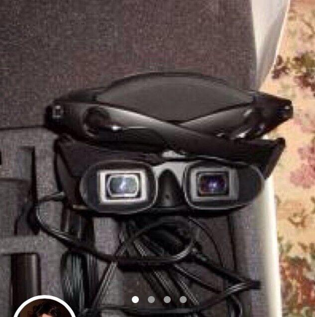 innovatek movie watching goggles glasses