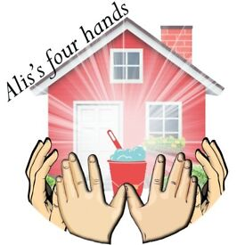 """""""Alis's four hands"""" for a spotless home !!!"""