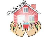 """Alis's four hands"" for a spotless home !!!"
