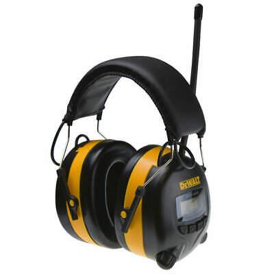 New Dewalt Dpg15 Radio Amfm Digital Tune Electronic Ear Muff Headset Radio