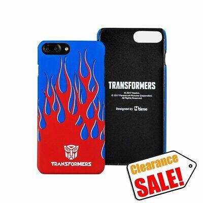 Transformers Genuine Optimus Prime Fire Hard Case fr iPhone 8 7 Plus Clearance S