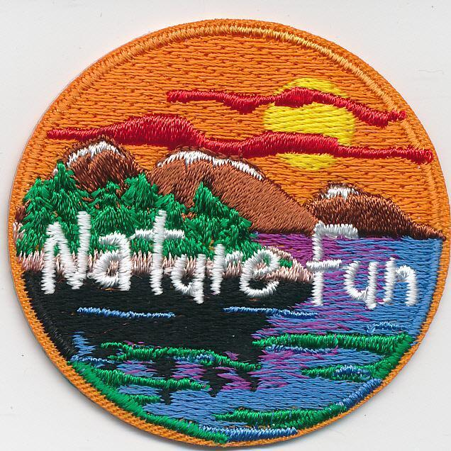 Girl Boy Cub NATURE FUN Outdoor SUNSET great Patches Crests Badges SCOUT GUIDE