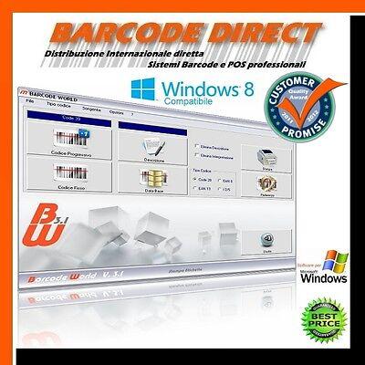 SOFTWARE Programma di generazione stampa etichette codici a barre barcode