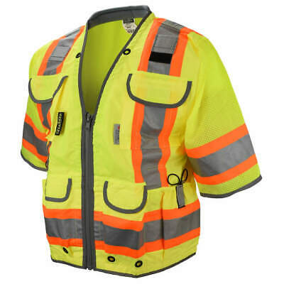 Radians Sv55-3zgd Large Class 3 Two Tone Engineer Vest