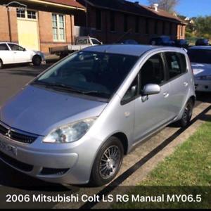 2006 Mitsubishi Colt LS RG Manual
