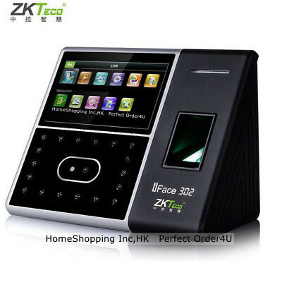 Usa Zkteco Biometric Face Fingerprint Attendance Time Clockdoor Access Control