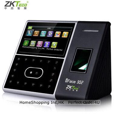 Usa Zkteco Biometric Face Fingerprint Attendance Time Clockdoor Access Control