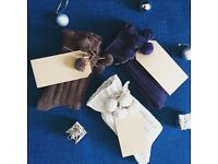 New Luxury Christmas Socks Gift Sets, Ladies & Girls Gifts Size 3-8