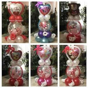 Valentine's balloons with surprise inside!!!