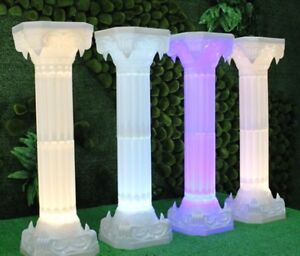 New unused Roman Column for Party Decor with lights/10pcs