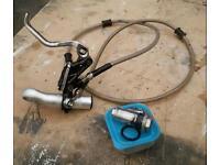 Ktm 125 sx right hand stunt brake (full kit)