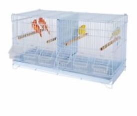 Double wire breeder cage
