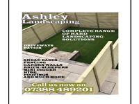 New garden/ hard landscaping