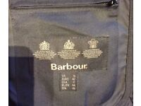 Ladies black Barbour jacket Only worn a few times Excellent condition Size 16