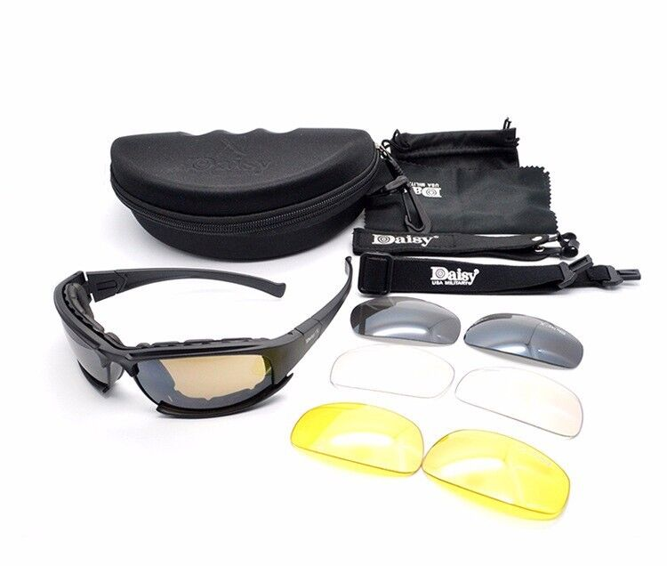 720473dfb9 Daisy X7 Glasses Military Polarized Goggles Bullet-Proof Army Sunglasses