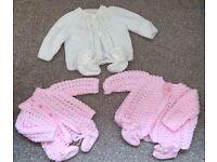 Baby cardigans/coats/sleep suits