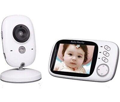 VB603 Baby Monitor LCD Screen 2 Way Talk 8 Lullabies Temperature Night Vision
