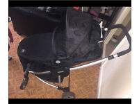 Complete MyChild pushchair with carrycot and car seat