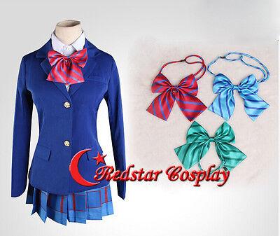 Love Live Kousaka Honoka Yazawa Niko Nishikino Maki Uniform Cosplay Costume