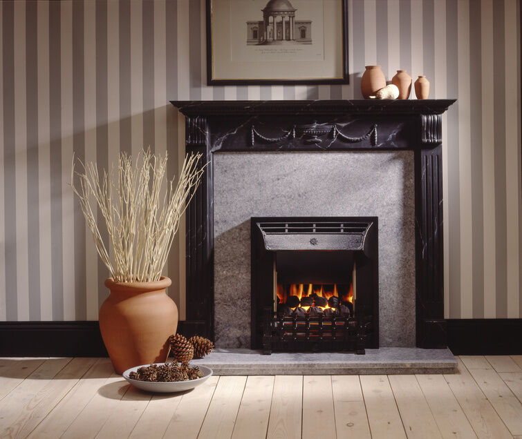 How To Paint A Marble Fireplace Surround EBay