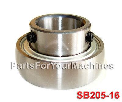 Quality Sealed Insert Ball Bearing Sb205-16 Sb 205-16 1 Axle Farm Machines