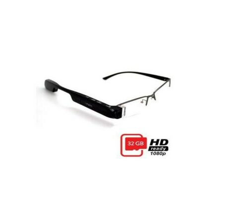 DigiOptix 32G Smart Glasses with Changeable Frame Sunglasses (PC lense)