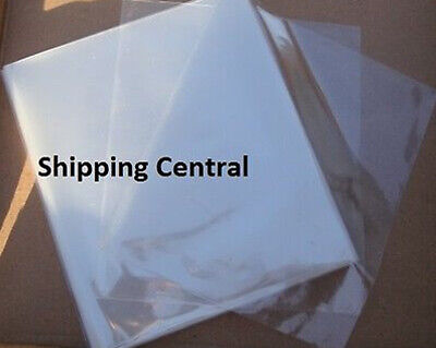 100 Pieces 6x9 Heat Shrink Film Wrap Flat Bags Cd Gifts Pvc 6x9 100 Pieces