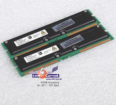 512 MB KIT 2x256MB RDRAM RIMM 402836-872 HP W6000