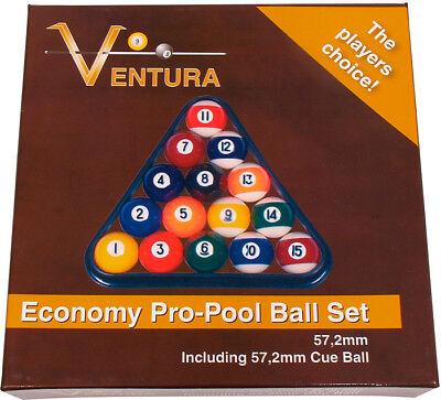 Ventrua American Pool Ball Set 2 1/4