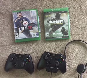Xbox One Console with 2 game and Kinect
