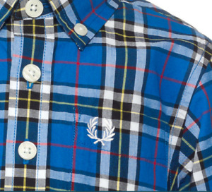 "fred perry ""mctavish"" buttondown shirt 5/6"