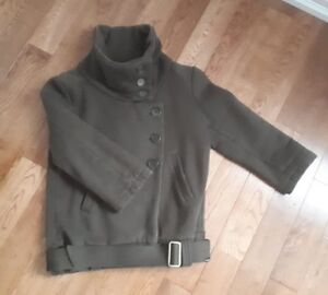 EUC Aritzia Community Organic Cotton Bomber Jacket