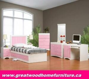 STORAGE BED WITH KIDS...$299..CHOICE OF COLOR