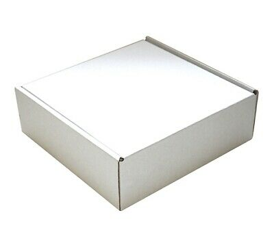 Postal Brownie/biscuit/ Mail Boxes/deep Postal (10 Pack) White 24x24x8cm