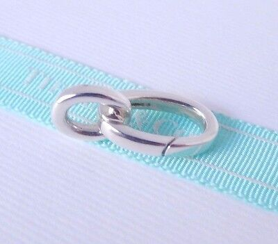 Tiffany & Co Silver Extender Extra Link for Clasping Open Clasp Link Bracelet
