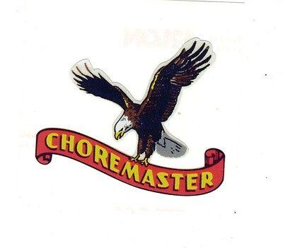Choremaster Gas Engine Motor Hit Miss Decal Bald Eagle