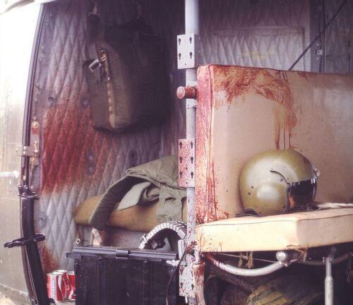 Vietnam War U.S. Military Choppers Often Returned Like This Glossy 8x10 Photo