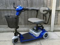 Days Medical Strider Micro 3 Wheel Boot Mobility Scooter