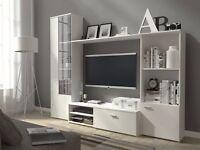 Living Room Furniture Set Display Wall Unit Modern TV Unit Cabinet