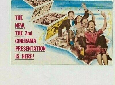 Vintage Postcard Chicago IL. Cinerama Holiday Eitel's Palace Theatre ca. 1952