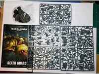 Warhammer 40,000 Death Guard models from Dark Imperium boxed set