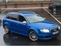 2006 AUDI RS4 AVANT HPI CLEAR 4.2 QUATTRO BLUE + BUCKETS + XENON + SATNAV