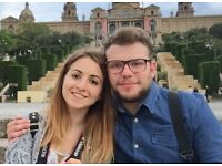 couple looking for a double room