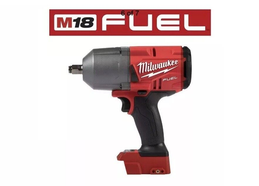 "Milwaukee 2767-20 M18 FUEL 1/2"" High Torque Impact Wrench"
