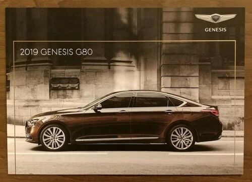 2019 GENESIS G80 Sales Brochure Catalog US 19 Hyundai 3.3T Sport 5.0 Ultimate