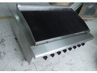 Charcoal Grill Used For Piri Piri Chicken