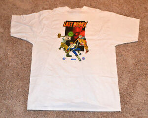 Last Bronx T-Shirt • Sega Saturn System Promo E3 Clothing • NOS Brand New XL
